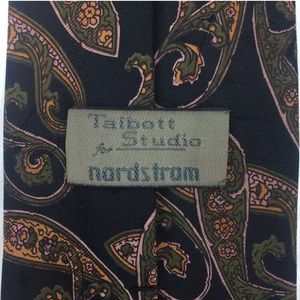 Robert Talbott Studio Hand Sewn 100% Silk Paisley